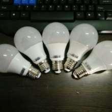 供应好恒照明专业生产LED塑包铝球泡高品质球泡防水球泡270度发光球泡批发