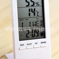 电子LCD显示时钟月相温湿度计芯 ZH1308