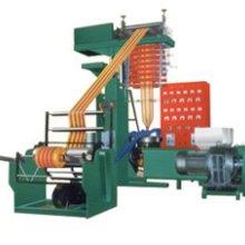 双色地膜系列吹膜机组 聚乙烯薄膜彩条吹膜机,双色彩条吹膜机组图片