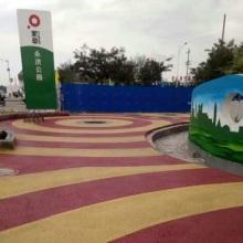 湘潭生态环保型彩色透水混凝土 材料施工一体化图片