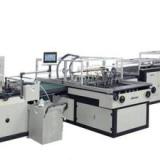 精装书皮壳机 全自动皮壳机  供应全自动上胶水机 包皮壳机 封面机