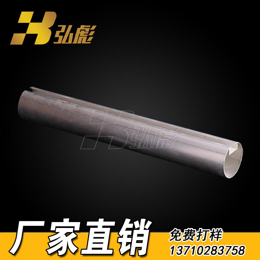 圆管铝方通吊顶 白色圆形铝方通 O型方通吊顶 湖南铝方通定制厂家