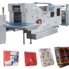 全自动带印刷纸袋制造机 全自动带印刷纸袋生产设备图片