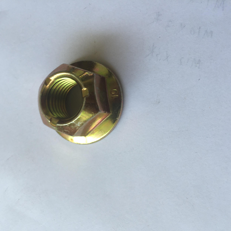 全金属锁紧螺母防松螺母8级 全金属锁紧螺母防松螺母10级 GB6187