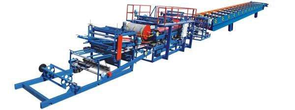 彩钢夹心复合板流水线 950搭接 厂家直供