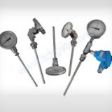 不锈钢双金属温度计 轴向 耐腐型 万向型 厂家供应