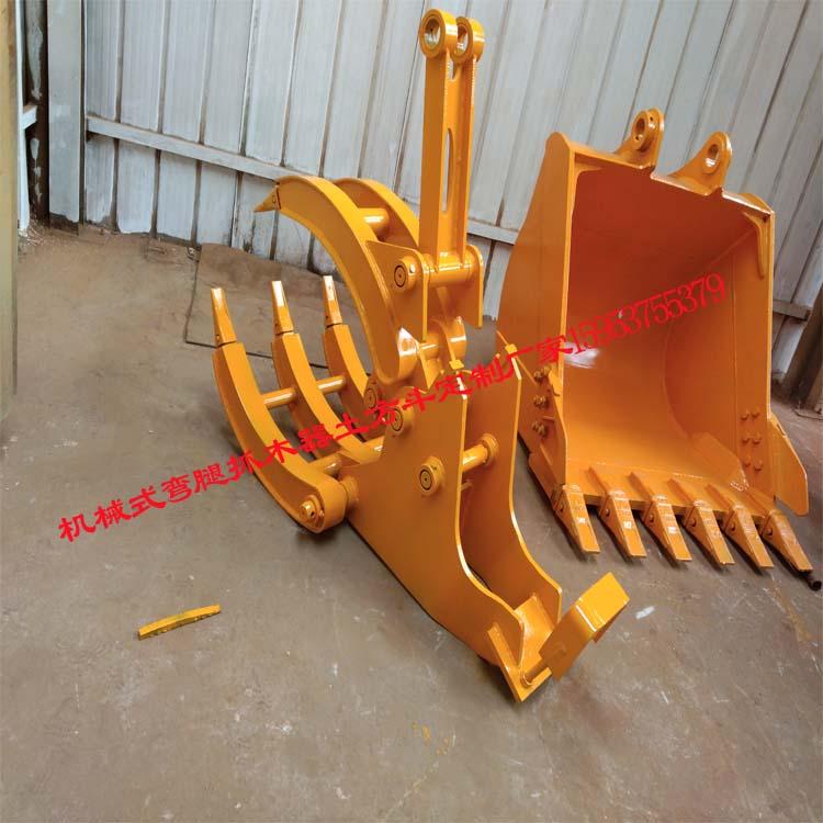 挖掘机机械3加2夹头定制用途多多厂家直销