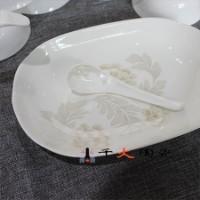 景德镇异型瓷器餐具 高档异型餐具 骨质餐具套装