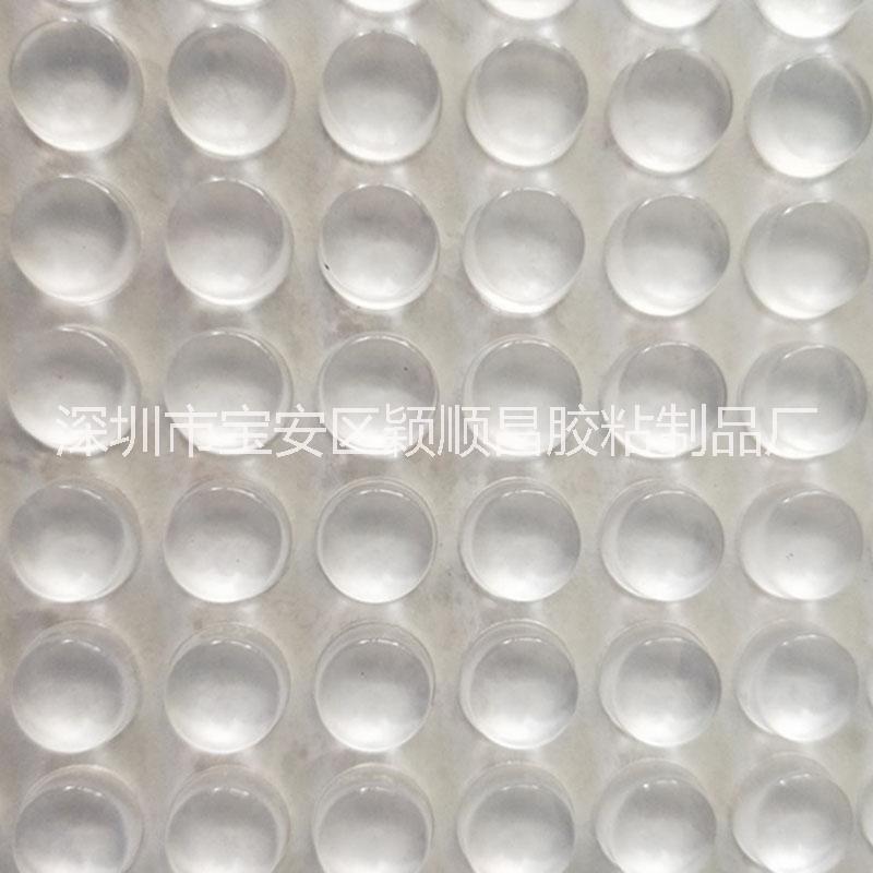 圆柱形玻璃脚垫 供应自粘3m透明玻璃胶垫 电器防撞垫片蓝牙音箱耐磨硅胶防滑垫