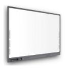 电子交互白板一体机一体化设计:OPS电脑、红外白板、中控、音响、无线MIC单元集成在整个框架内,非拼接式结构