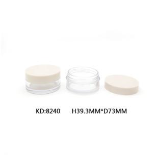 新品8240膏霜罐厚底透明瓶旋盖图片