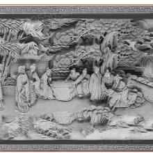 金华园林文化浮雕黏土耐腐蚀仿砖雕图片