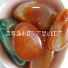 供应鱼缸装饰铺底用天然玉石碎石手链项链消磁用玛瑙石图片