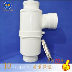 pvc单立管消音同层三通外带积水器排水管件 供应pvc三通塑料三通