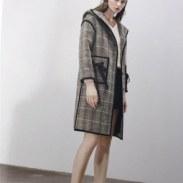 海泥羊绒品牌女装棉服尾货清仓图片