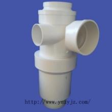 供应正亚特殊单立管立体旋流四通PVC排水消音降噪管件管材图片
