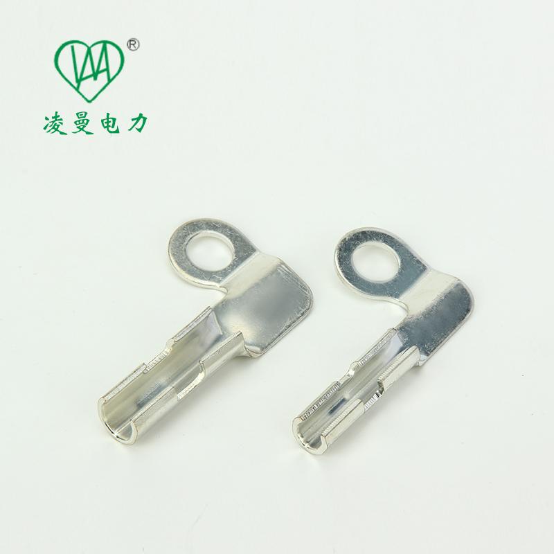 供应L型连接器高铁专用L型线夹镀锡