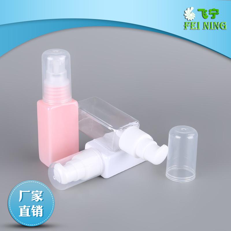 香水喷头瓶 20口径30ml螺口半罩香水喷头瓶 超细雾喷雾四方PET瓶