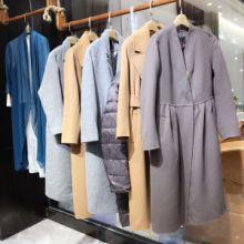水墨生香品牌折扣女包装冬季女式羽绒服尾货批发 一手货源