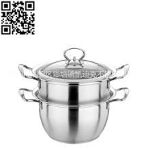 304#不锈钢防溢蒸锅厨具餐具等用品