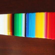 亚克力板透明定做加工定制加工订做 手工材料彩色有机玻璃板批发