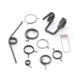 专业定制扭转弹簧 扭力弹簧 不锈钢双扭簧各类异形弹簧塔簧批发