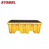盛漏托盘SPP102H  西斯贝尔加高两桶盛漏托盘 泄漏防护