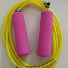 训练健身跳绳轴承手柄绳 定制批发 pvc管跳绳 pvc儿童跳绳批发
