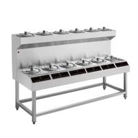 商用煲仔饭机器智能煲仔炉8头12头煲仔饭炉灶韩式煲仔炉