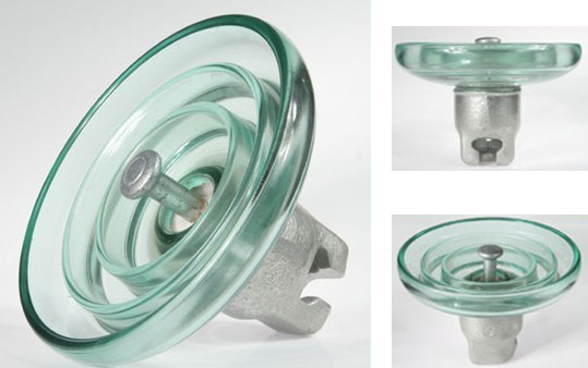 绝缘子生产厂家直销U70BP防污型钢化玻璃绝缘子