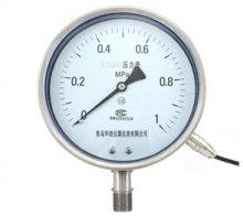 厂家螺纹型隔膜压力表不锈钢耐震隔膜电阻压力表YTZN150BF-ML全规格材质304批发