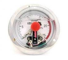 电接点压力表YNXC100耐震磁助式径向标准螺纹M20*1.5触点电压30VA YNXC电接点压力表