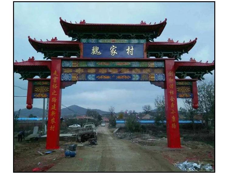 苏州钢结构牌楼,钢结构牌楼专业制作厂,仿古钢结构牌楼价格,结构设计