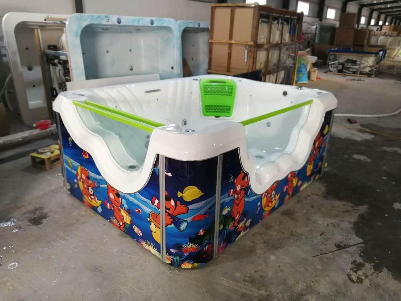 豪华儿童游泳池郑州圣豪科技游泳设备厂海洋系列泳池设备