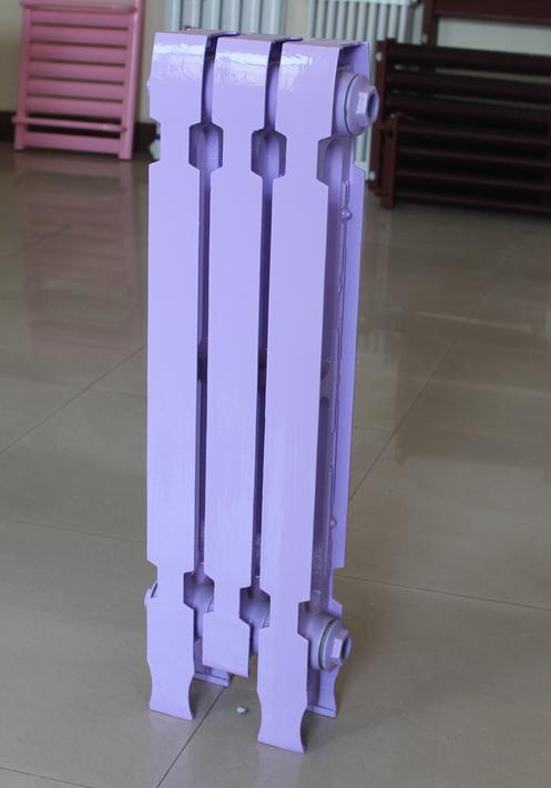 老式铸铁暖气片生产厂家定制 销售 柱翼橄榄745型散热器 集中供暖 老式铸铁暖气片厂家供应
