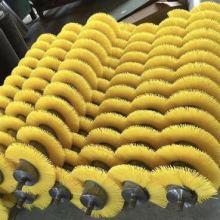 螺旋毛刷辊      清洗机毛刷辊   人字形毛刷
