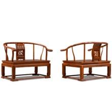 红木家具花梨木禅椅中式打坐椅刺猬紫檀木太师椅仿古椅子批发