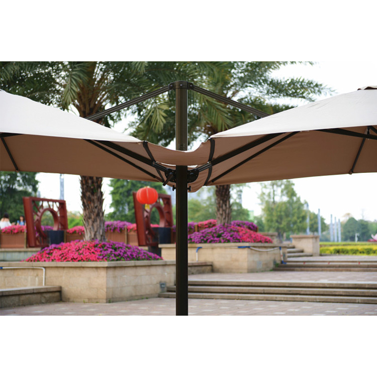 户外双向罗马伞 广告定制 360度旋转双向罗马伞 罗马伞直销