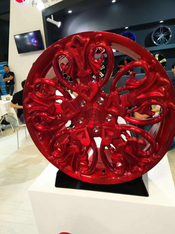 一片式锻造铝合金改装轮毂 西安一片式锻造铝合金改装轮毂