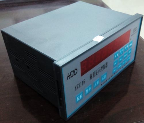 配料控制系统图片XK3116C电子仪表校称步骤 XK3116C控制显示器