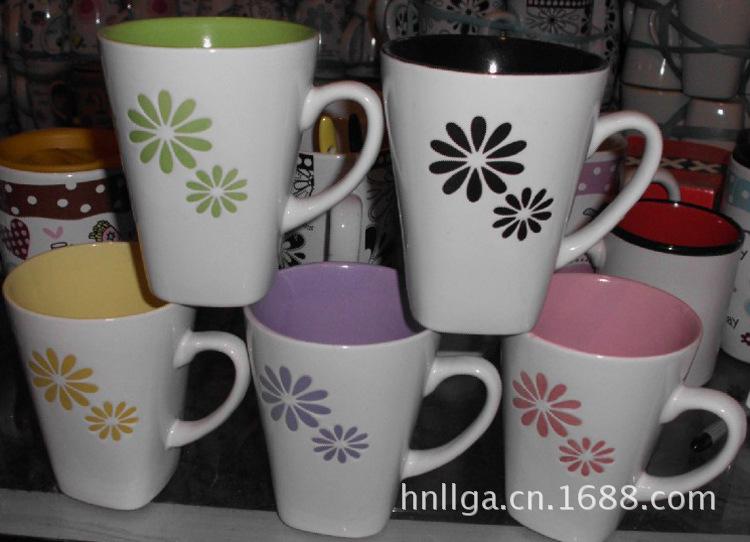 陶瓷杯产地  陶瓷杯订制,国安陶瓷杯 欢迎来电洽谈