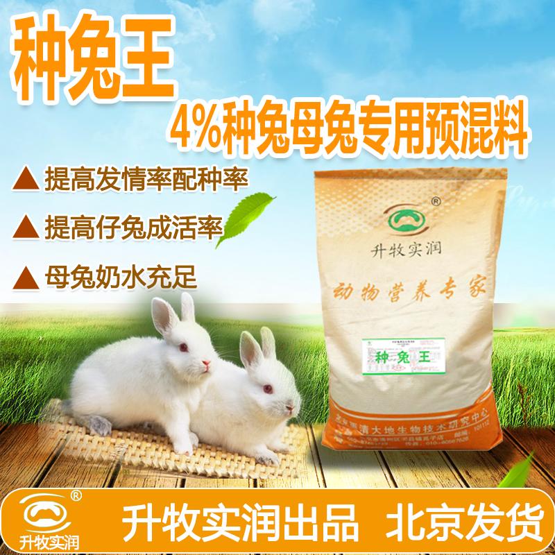 供应北京兔预混料采购报价,速肥兔4%兔用预混料,兔子动物专用预混料,北京动物辅料供应商 北京兔预混料厂家