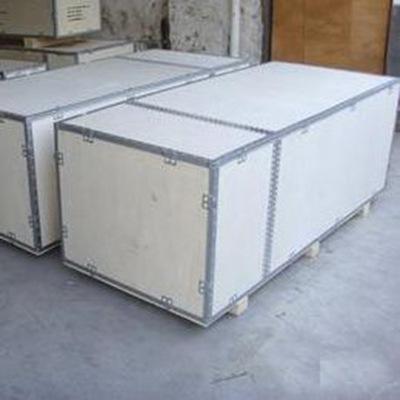 生产家专业供应钢带木箱 钢带木箱价格可定制应用