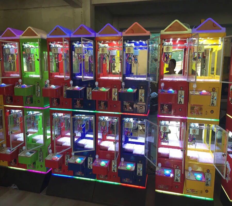 供应双人精品娃娃机厂家  小型娃娃机多少钱  四人精品娃娃机  魔方娃娃机