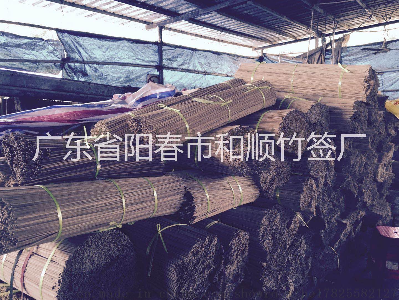 粤西竹签厂家 加工竹签 竹签定制 烧烤签 棉签 雪条签