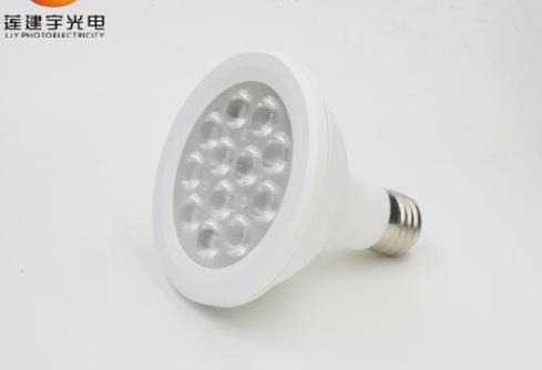 爆款PAR38PAR灯套件塑包铝 透镜2835铝基板