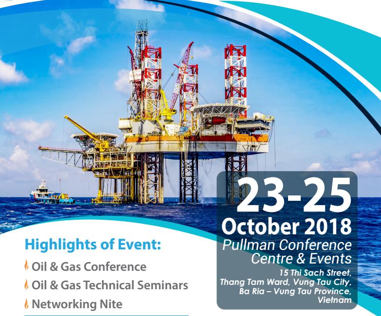 展会招展,国际展会,2018年越南国际能源化工展会