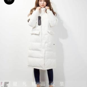 上海品牌折扣女装市场|羽绒服货源图片