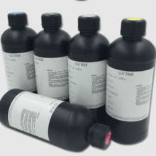 UV墨水适用爱普生UV打印机墨水 压电LED UV硬性柔性墨水批发