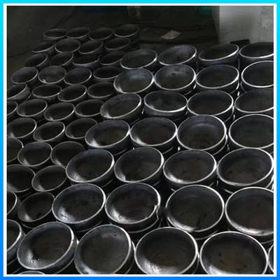 无缝管帽价格国标封头施工区域碳钢管帽生产流程